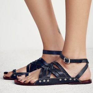 Free People Shoes - FREE PEOPLE Belize Strappy Sandals Sz 37